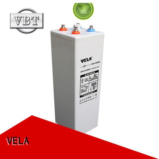 VELA industrial battery satisfying for power plant