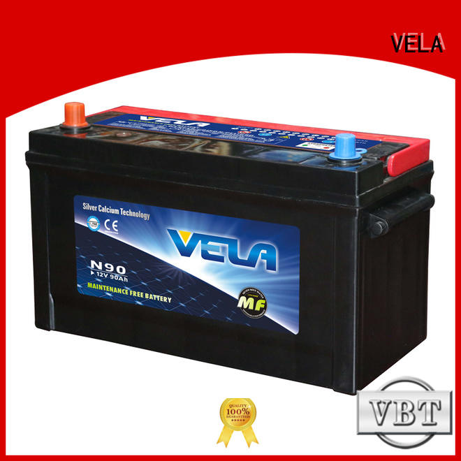 VELA vehicle battery widely employed for car industry