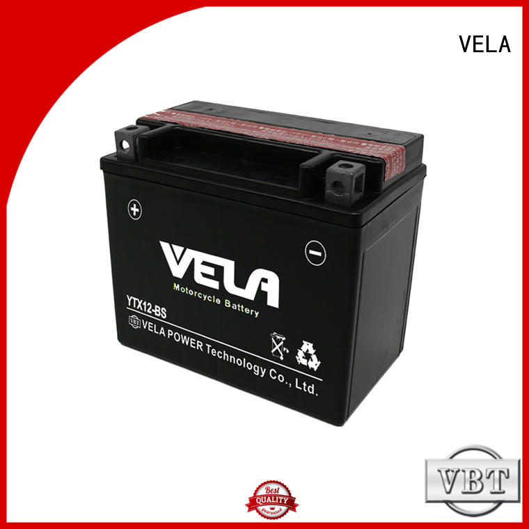VELA dry battery motorcycle industry