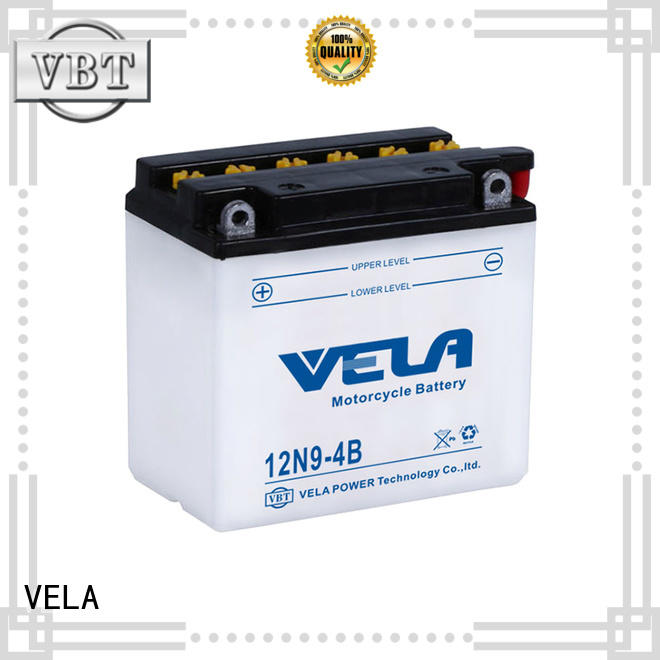 VELA lead acid motorcycle battery motorcyles