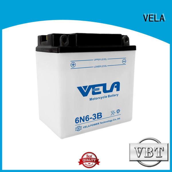 VELA reliable lead acid battery best for motorcyles