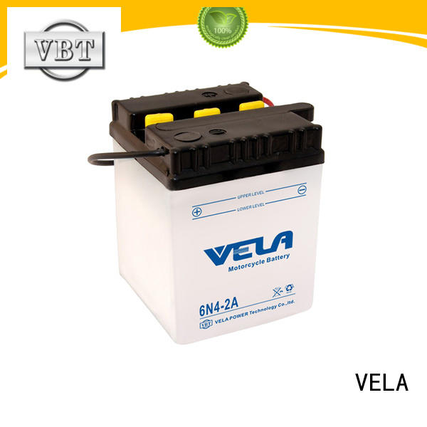 VELA conventional battery very useful for motorcyles