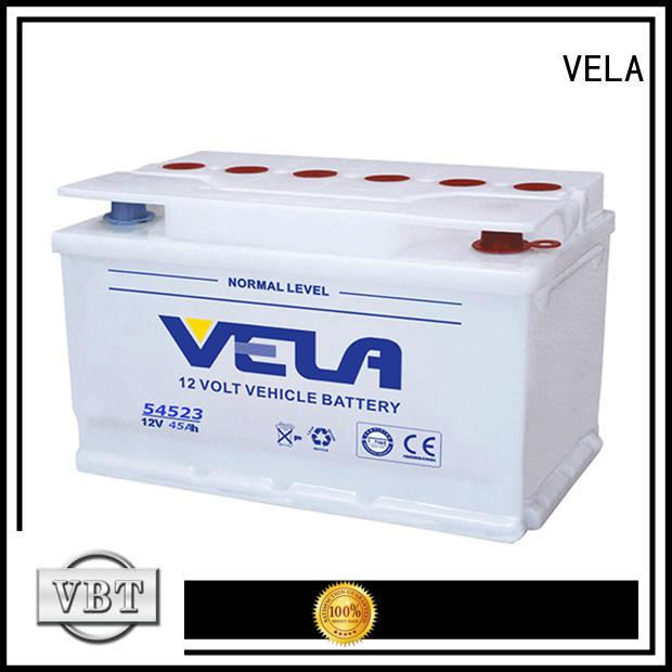 VELA safe car dry cell battery vehicle industry