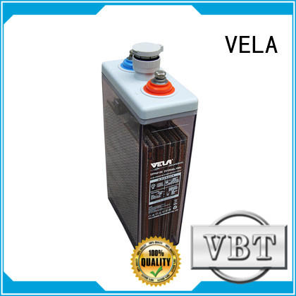 VELA high performance industrial battery manufacturers ideal for solar system