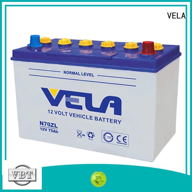 VELA best car battery brand optimal for automobile