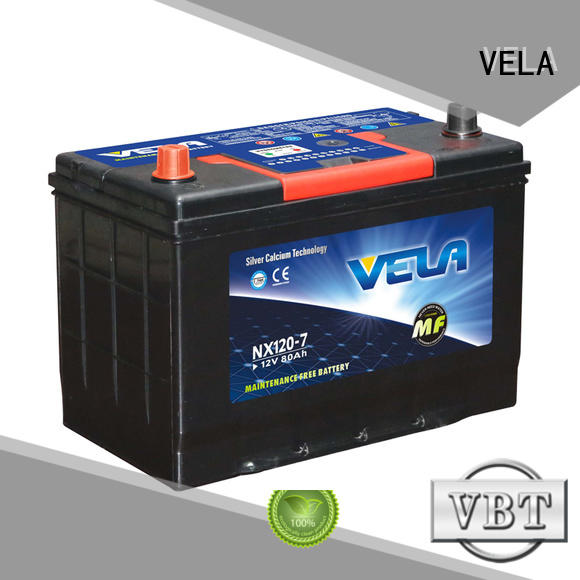VELA high grade best auto battery very useful for automobile
