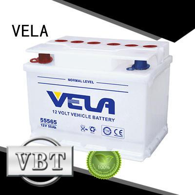 VELA car battery brands optimal for vehicle