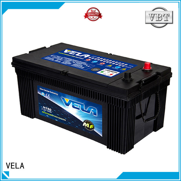 VELA heavy duty battery excellent for vehicle