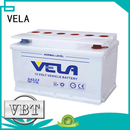 VELA car battery suppliers ideal for vehicle