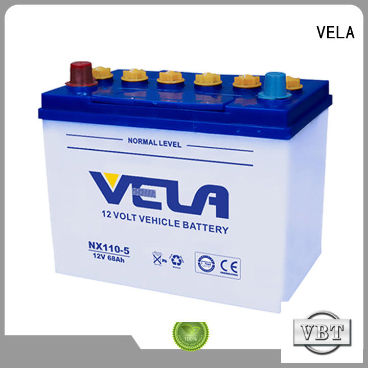 VELA car battery suppliers perfect for vehicle