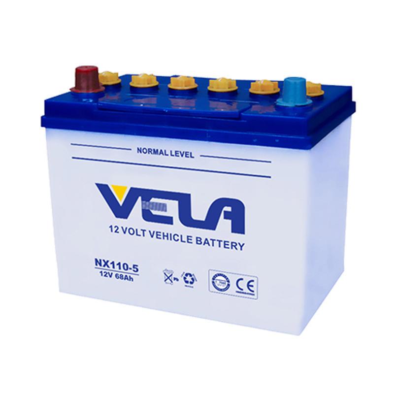 New car battery JIS standard 12V 68Ah battery 80D26L