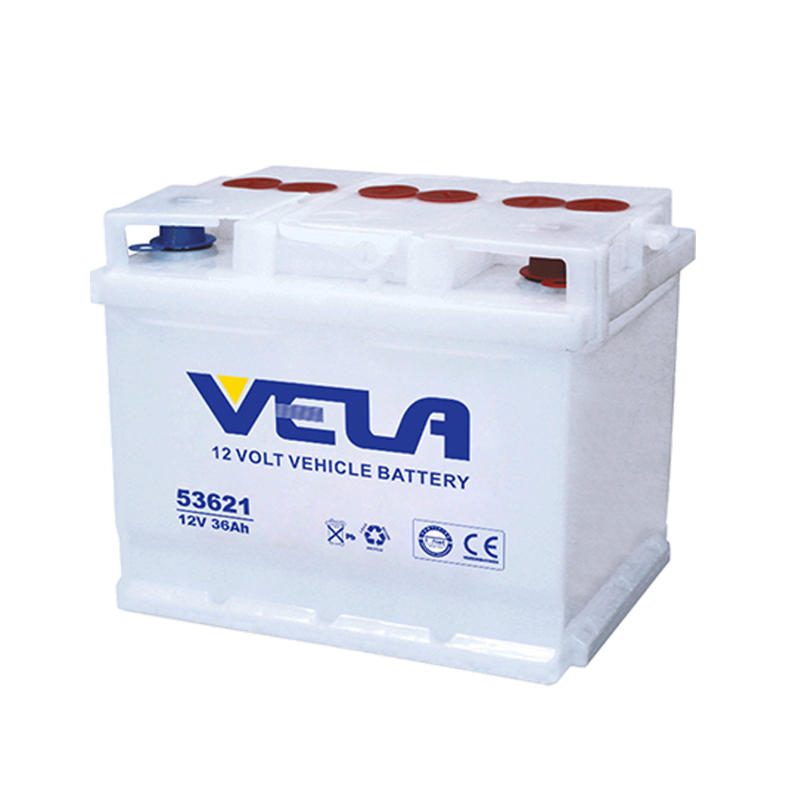 DIN36L 12V36Ah Dry Charged Small Car Battery