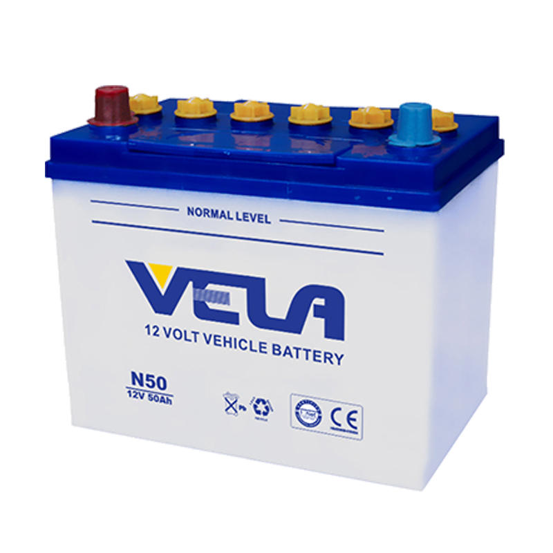 Auto battery 12V 50Ah battery best car battery brand N50