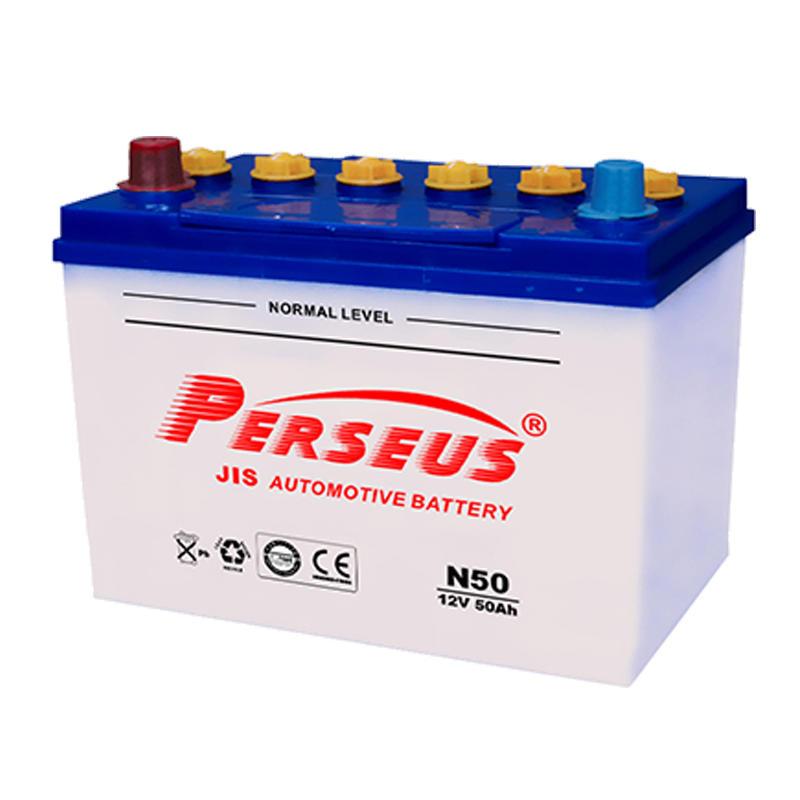 Auto battery 12V 50Ah battery best car battery brand N50