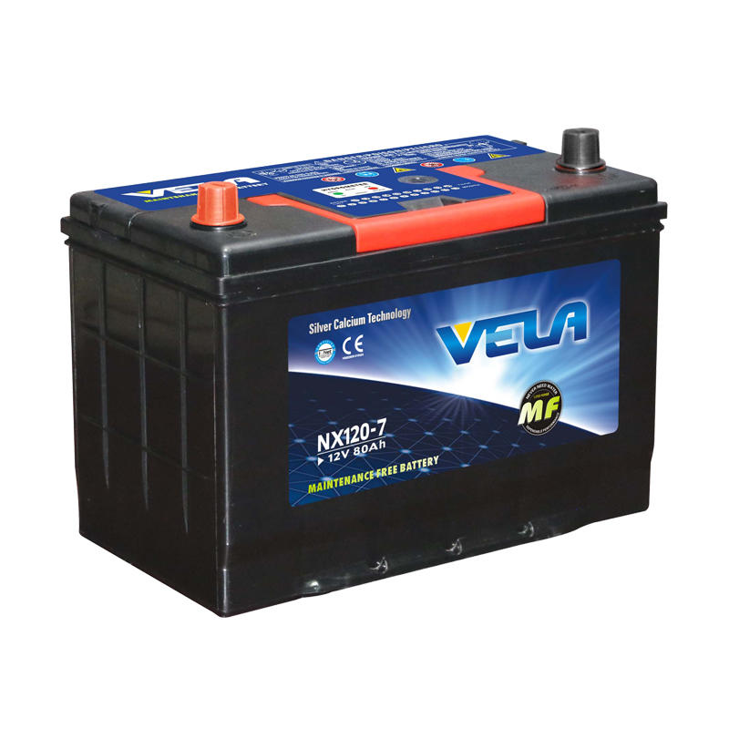 95D31R 12V 80Ah Japanese Standard Car Battery