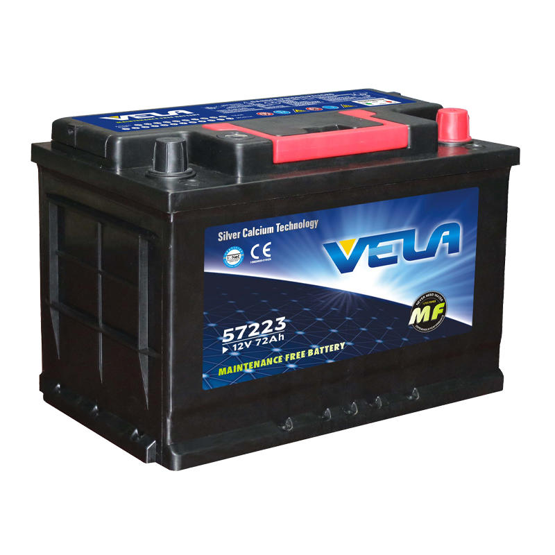 12V 72Ah vehicle battery best car battery brand DIN72L