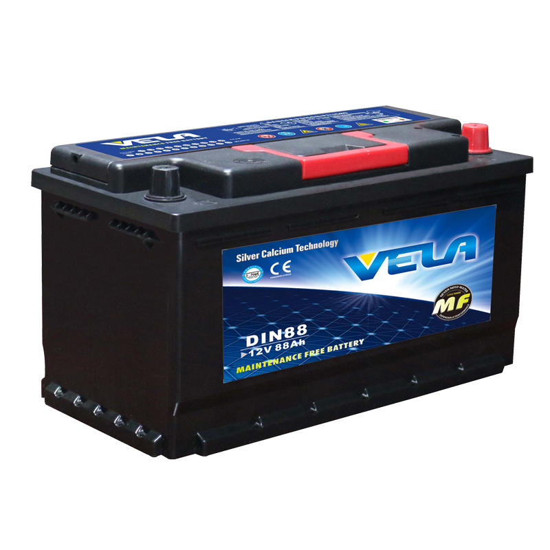 12v car battery 12V 88Ah maintenance free battery DIN88L