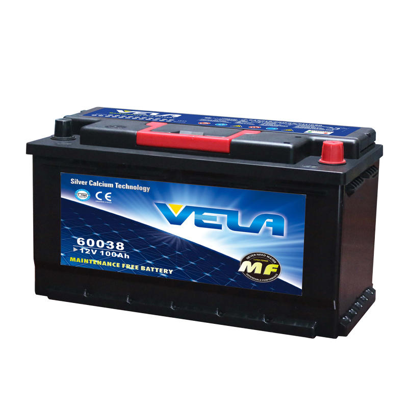 12V 100Ah auto battery on sale DIN100L