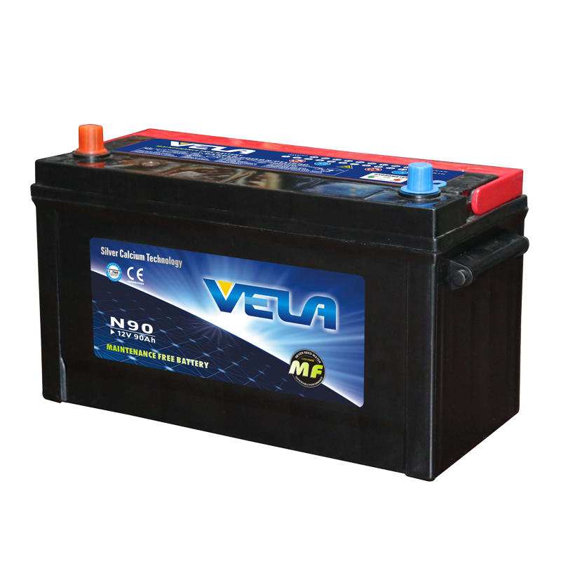 12V 90Ah car battery price JIS standard N90