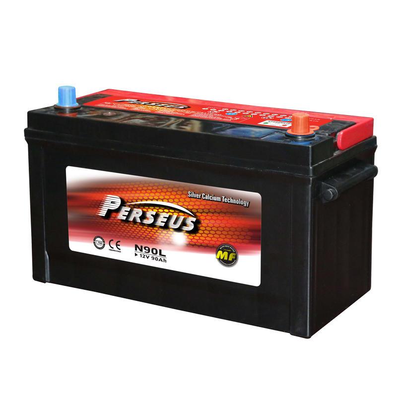 12V 90Ah car battery price JIS standard N90