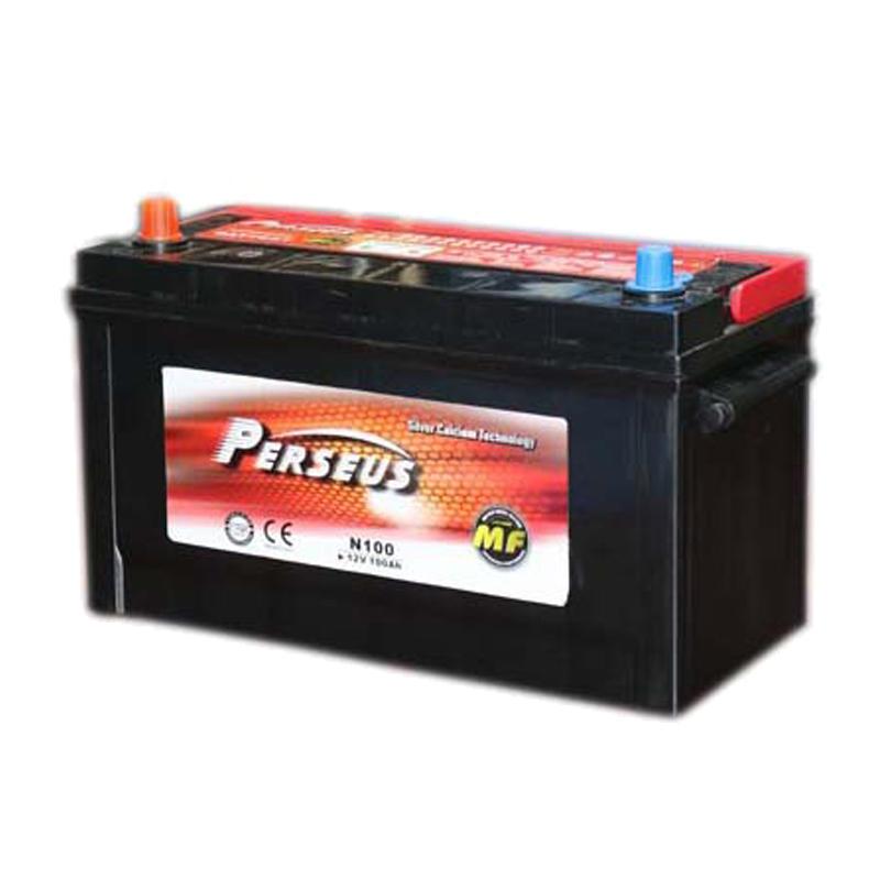 12V 100Ah maintenance free car battery N100L