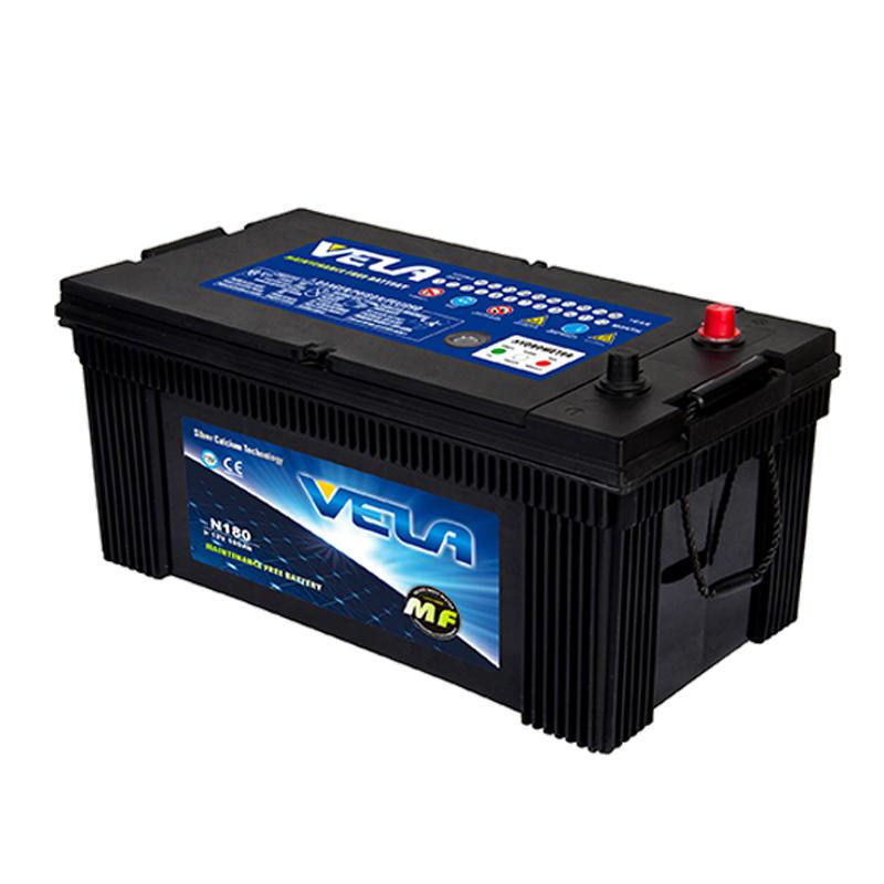Sealed lead acid battery truck battery rechargeable battery N180L