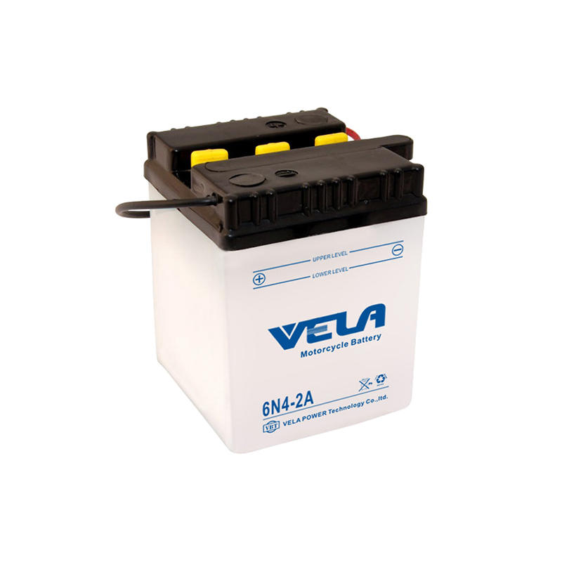 6N4-2A 6V 4Ah 6 volt motorcycle battery