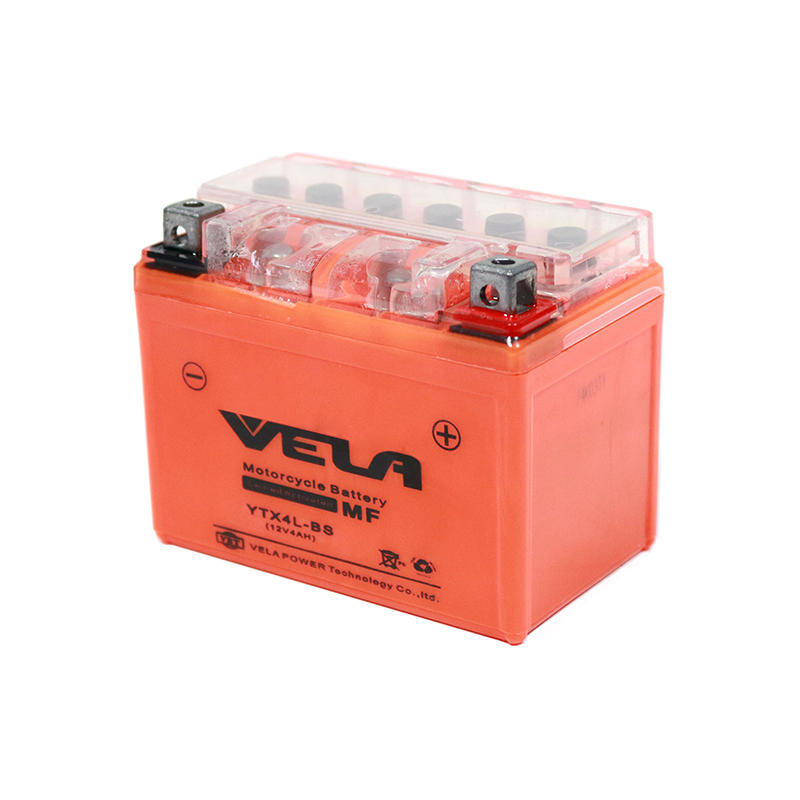 12V 4Ah motorbike battery 12v battery YTX4L-BS