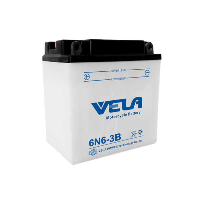 6N6-3B 6V 6Ah motorcycle battery