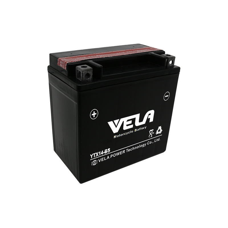 12v 14ah motorcycle battery maintenance free battery YTX14-BS