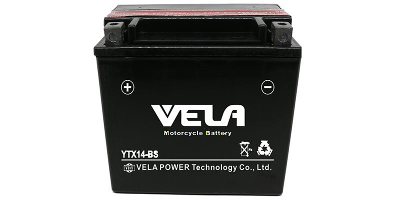 VELA dry cell battery perfect for motorcycle industry