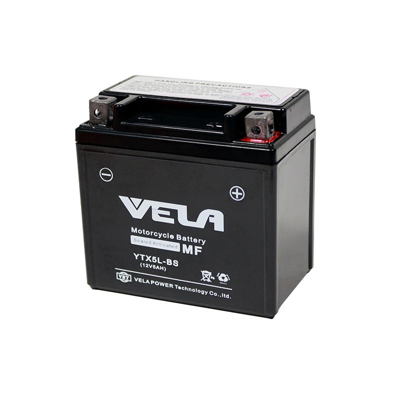 Agm motorcycle battery 12V 5Ah motorcycle battery price YTX5-BS