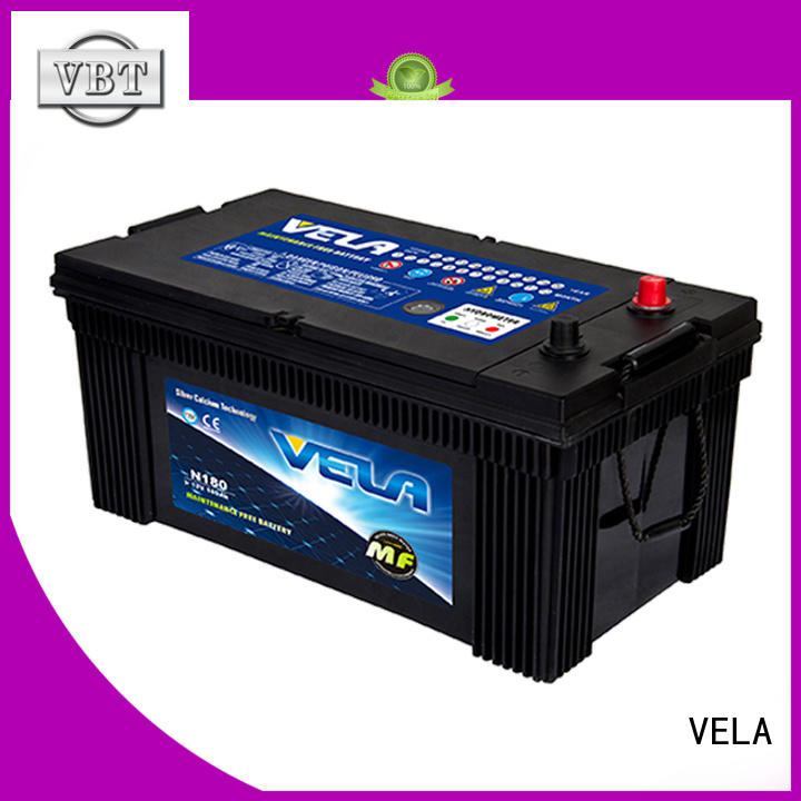 VELA efficient truck batteries heavy duty best choice for tractor