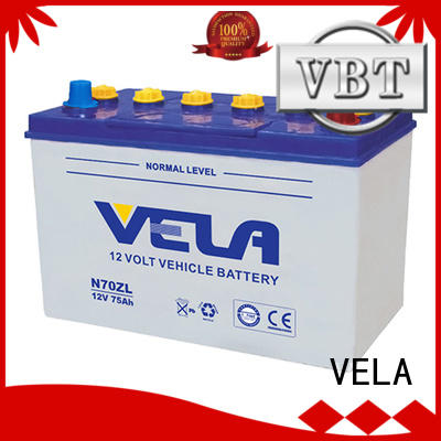 VELA car dry cell battery vehicle industry