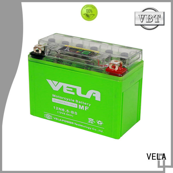 VELA long life time motorbike battery perfect for motorbikes
