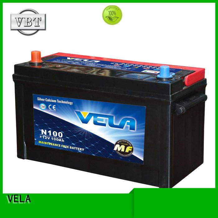 VELA high grade cheap car battery replacement excellent for automobile