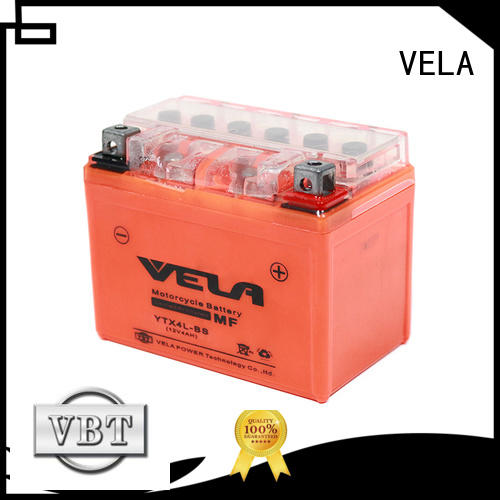 VELA top rated motorcycle battery motorbikes