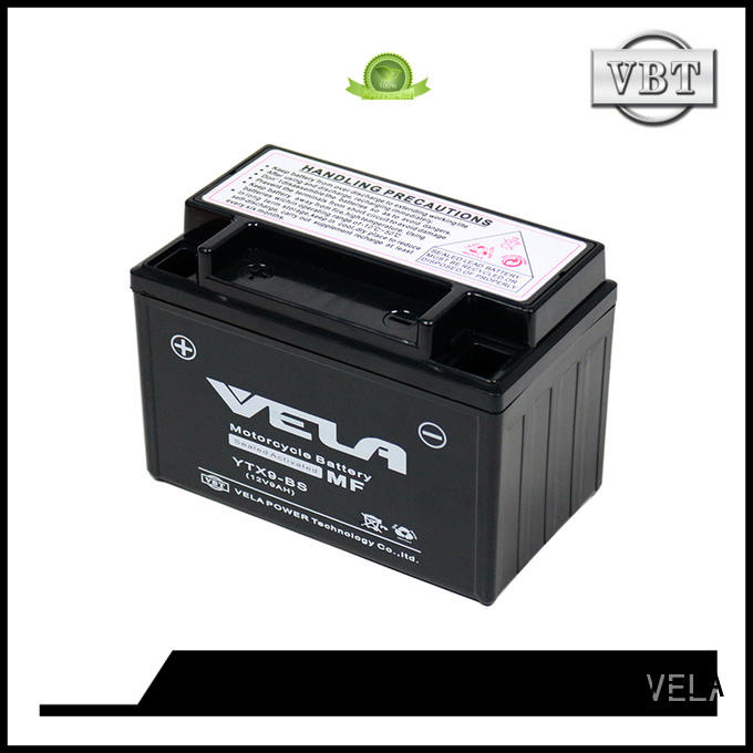 VELA sealed maintenance free battery excellent for motorbikes