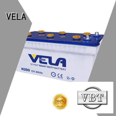 VELA commercial truck batteries best choice for tractor
