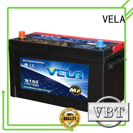 VELA reliable good car battery brands excellent for automobile