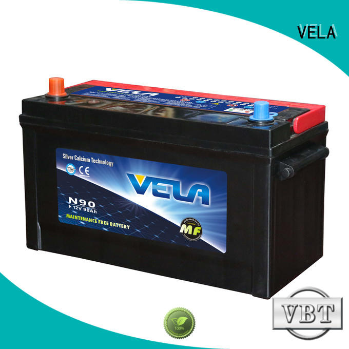 VELA high performance car battery companies excellent for vehicle