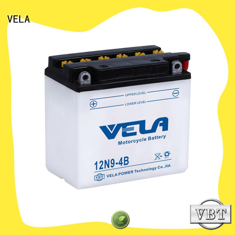 VELA lead acid motorcycle battery