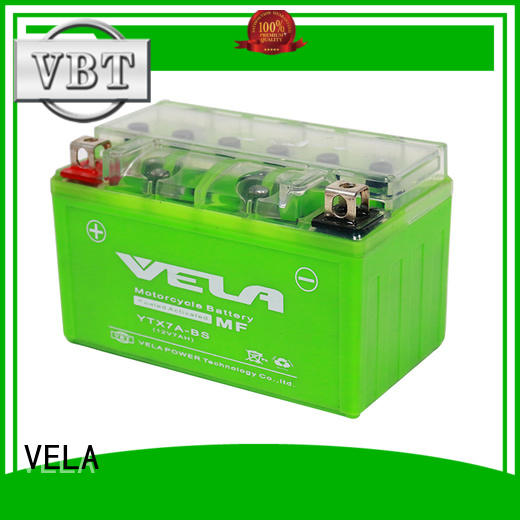 VELA small 12v battery motorcycle perfect for autocycle