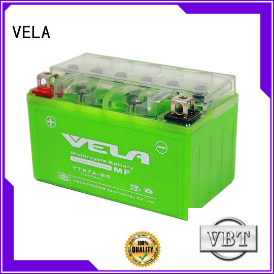 VELA gel cell battery perfect for motorbikes