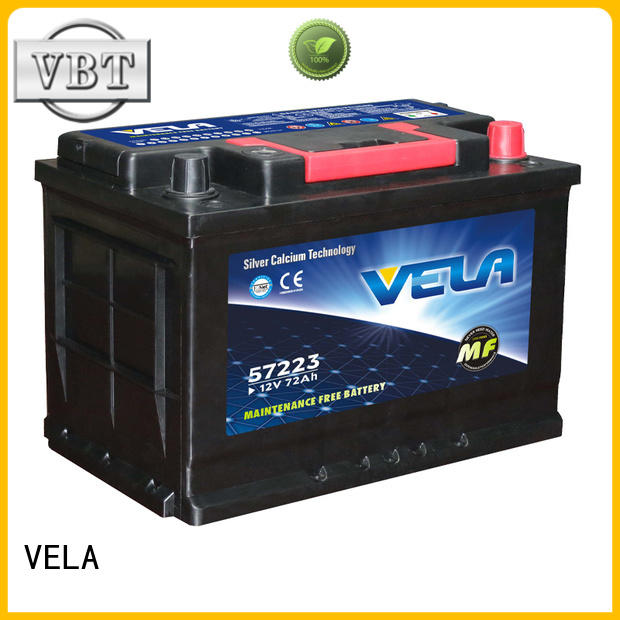 reliable maintenance free car battery widely employed for vehicle