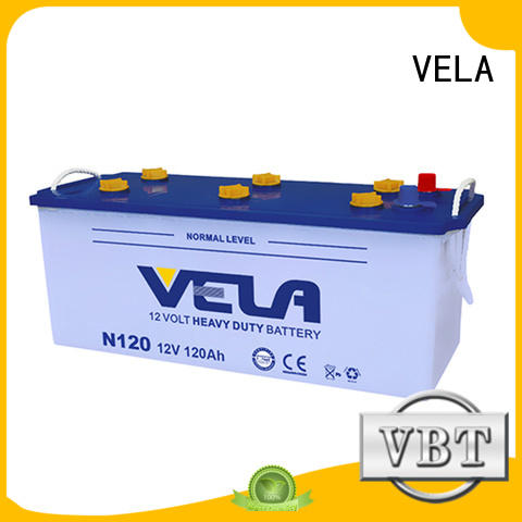VELA durable heavy duty battery suitable for vehicle