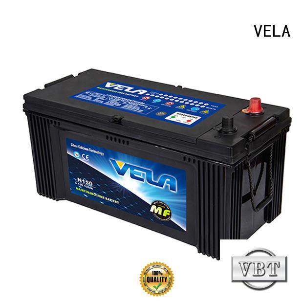 VELA heavy duty battery auto
