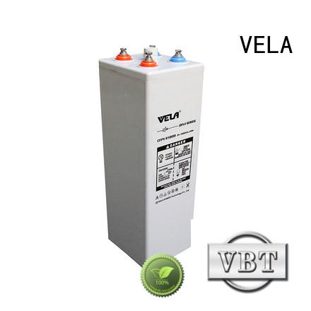 VELA convenient industrial battery manufacturers perfect for telecommunications system