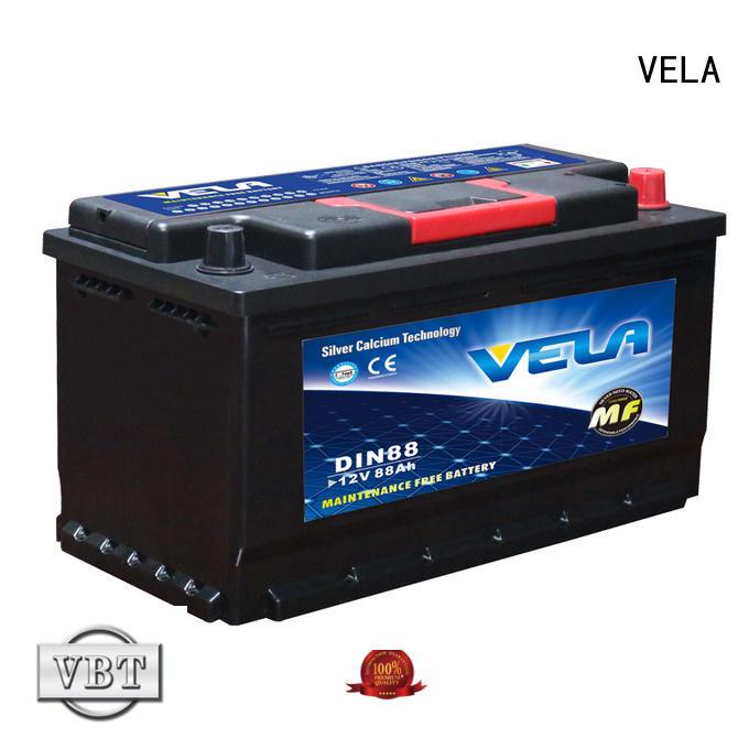 VELA high grade good car battery brands car industry