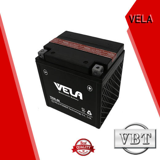 VELA dry charged battery widely used for motorcyles